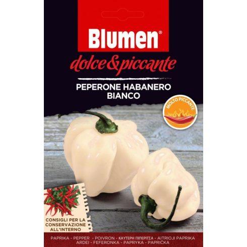 Fehér habanero paprika – extrém csípős - kb. 10-20 szem BLUMEN