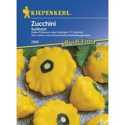 Cukkini - patiszon sárga