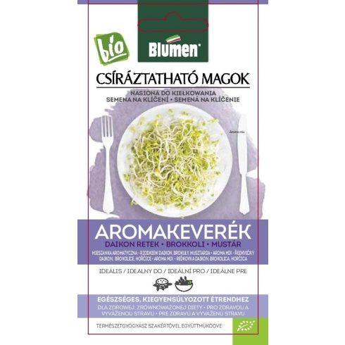 Csíra mag BIO Aroma keverék (Daikon retek, Brokkoli, Mustár) 45 g BLUMEN