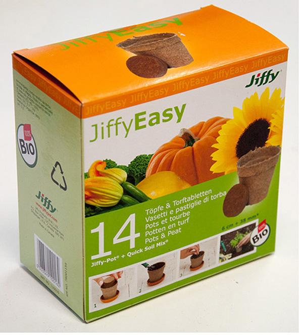 Palántanevelő készlet Jiffy 14